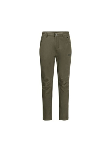 Jack Wolfskin Jack Wolfskın Zenon Softshell Pants Erkek Outdoor Pantolonu Yeşil